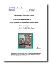 KNB1 brushless exciter manual